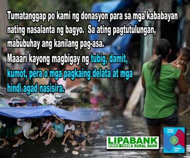 donation typhoon